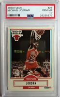 1990 90-91 Fleer Michael Jordan #26, Graded PSA Gem Mint 10, Vintage MJ !