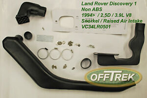 Land Rover - DISCOVERY 1 / non ABS - SNORKEL - Raised air intake - VC34LR0501