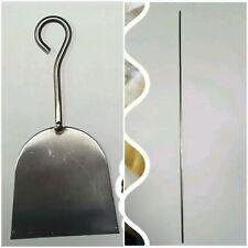 Ferretto per lavorazione Fusilli in acciaio + Rasola in acciaio per taglio pasta