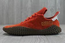 46 New Adidas Kamanda 01 Rust Orange Mens Sizes 8 - 13 Suede Shoes DB2776