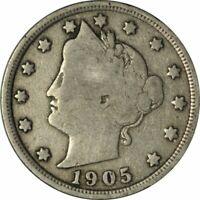 1905 LIBERTY NICKEL - VERY NICE CIRC COLLECTOR COIN! -d2207xsd2