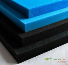 Sponge aquarium Poret Polyether Filter Foam Media HMF sheet pond fish 45x31x5cm