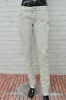 Jeans LEVI'S Donna Taglia Size 29 Pantalone Slim Fit Pants Woman Stretch