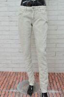 Jeans LEVI'S Donna Taglia Size 29 Pantalone Slim Fit Pants Woman Stretch