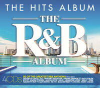 Various Artists : The Hits Album: The R&B Album CD Box Set 4 discs (2019)