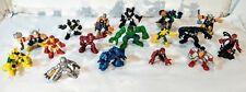 Lot of 17 Playskool Marvel Heroes Super Hero Squad Figures