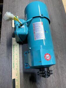 MINT! MCN CLSK22040101 Gearmotor [1/2hp/1:10 Ratio/220V] *WARRANTY*FAST SHIPPING