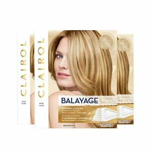 Clairol Nice'n Easy Balayage Permanent Hair Color Blondes 3 Count