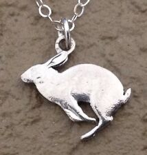 Canada Rabbit Bunny Hare Cut Coin Jewelry Canadian Centennial Sterling Necklace