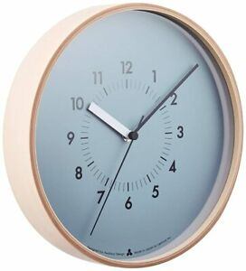 Lemnos SOSO Wall Clock Japan Blue AWA13-06 BL