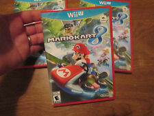 Mario Kart 8 (Nintendo Wii U, 2014) NEW FACTORY SEALED