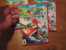 Mario Kart 8 (Nintendo Wii U, 2014) NEW FACTORY SEALED