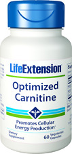 Life Extension Optimized Carnitine Promotes Heart and Brain Health, 60 Capsules