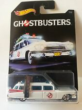 Ghostbusters Ecto-1 59 Cadillac Hot Wheels Collectable Diecast Toy Car 1:64