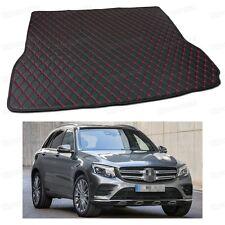 PU Leather Car Trunk Mat Cargo Pad Carpet Fit for Mercedes-Benz GLC 2016-2017