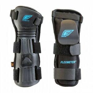 DEMON - D30 Snowboard Wrist Guards Flexmeter Double Back - size Large