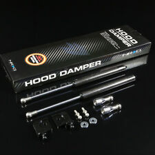 NRG STAINLESS STEEL OIL FILLED HOOD DAMPER FOR 94-01 INTEGRA DC1/2 CARBON FIBER