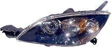 Halogen Headlight Unit Left Side Fits 2004-2009 Mazda 3 Hatchback Non-Turbo NEW