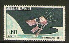 TIMBRE 1476 NEUF XX - LANCEMENT DU SATELLITE D1 A HAMMAGUIR ( ALGERIE )