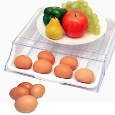 New Egg containers storage tray for refrigerator take out automatic roll down