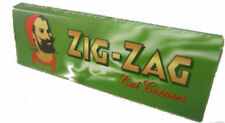 1000 ZIG ZAG GREEN RIZLA/ROLLING PAPERS 20 PACKS X 50 PAPERS FREE DELIVERY