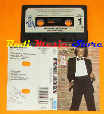 MC MICHAEL JACKSON Off the wall 1979 holland EPIC EPC 450086 4 cd lp dvd vhs