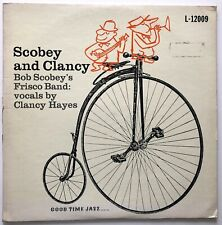 SCOBEY AND CLANCY - BOB SCOBEY'S FRISCO BAND - 1956 UK RELEASE - VINYL LP
