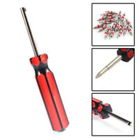 20 pcs Tyre Valve Core Insert With Remover Tool Schrader Car Bike Motorcycle