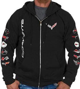 Sweat Shirt Hoodie Corvette Auto Hoodie Sweatshirt C2 C3 C4 C5 C6 C7 Stingray