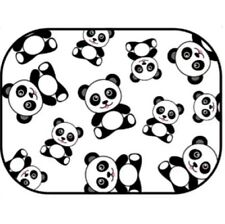 "NEW Auto Drive, Panda Static Cling Car Window Shade, 16"" x 12"", Universal Fit"