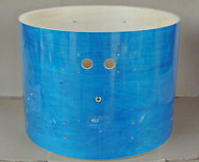"PEARL EXPORT 22"" TEAL BLUE LACQUER BASS DRUM SHELL for YOUR SET! LOT #H714"