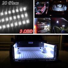 20 x 3LED Interior Under Body Trailer LED Lighting Light Kit For Dodge RAM Ford