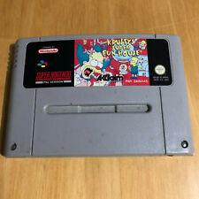 Simpsons Krusty's Super Fun House For Super Nintendo / SNES - UK / PAL