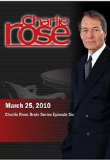 Charlie Rose Brain Series Episode Six (March 25, 2010) DVD NEW SEALED