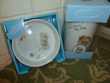 Beautiful Me to You/ Tatty teddy, ceramic dog treat jar, and bowl,