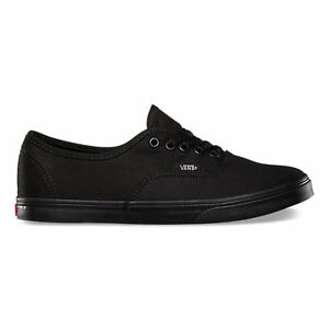 WOMEN VANS AUTHENTIC LO PRO BLACK ORIGINAL VN-0GYQBKA Free Shipping
