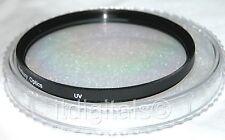 55mm UVA de protección para protector lente Cristal Filtro DELANTERO rosca