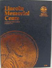 WHITMAN FOLDER - LINCOLN MEMORIAL CENTS #2 1999-2008 (#8196)