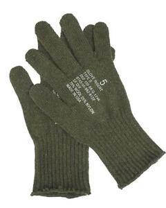 Genuine US army military glove insert Liners wool warmers Military Surplus NEW