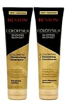 Revlon GLOWING BLONDE ColorStay Moisturizing Set with 1 Shampoo 1 Conditioner