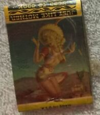 Vintage Pin-Up Girl Rita May Cafe Matchbook Cover