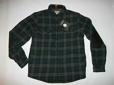 FIELD & STREAM Sherpa Lined Plaid Shirt JACKET Mens Size S / SMALL NEW