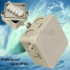 IP44 Waterproof Plastic Electrical Wire Project Junction Box Connection Case
