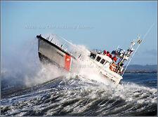 Photo USCG 47 ft. Motor Surfboat In Heavy Seas, National Motor Lifeboat School
