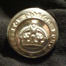 Vintage Toronto Police Force Uniform Button Department Scully LTD