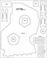 Creature from the black Lagoon Pinball Machine complete Mylar Set