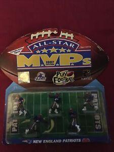 NEW ENGLAND PATRIOTS NFL Action Figures 1997 TEAM STARS Galoob All-Star MVP's