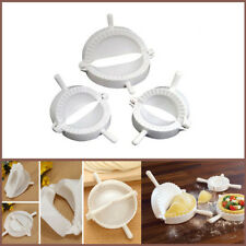 Dumpling Mould Press Pasty Maker 3 Mold Dimsum Kitchen Tool Pie Calzone Empanada