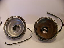 1955 56 DESOTO FIREDOME HEADLIGHT BUCKETS & HOUSING SPORTSMAN FIREFLITE OEM