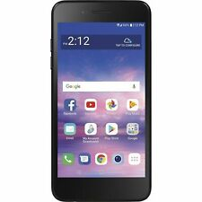 Simple Mobile LG Rebel 4 4G LTE Prepaid Phone with $50 Airtime Plan Included